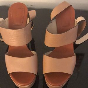 Chloe Wedge sandals with Ankle Straps